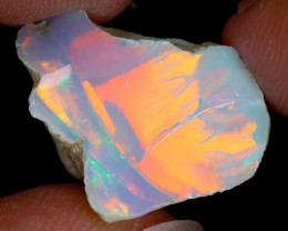 12cts Natural Ethiopian Welo Rough Opal / WR8615