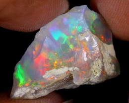 11cts Natural Ethiopian Welo Rough Opal / WR8631