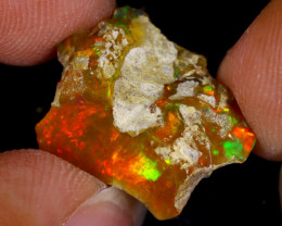 6cts Natural Ethiopian Welo Rough Opal / WR8639