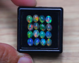 3.67Ct Natural Ethiopian Welo Solid Opal Lot W627