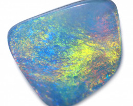 1.97 cts Opal Doublet from Olympic Opal Field-Pastel Colours [SEDA8286]