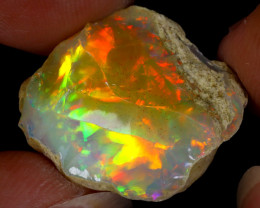 16cts Natural Ethiopian Welo Rough Opal / WR8762