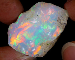 32cts Natural Ethiopian Welo Rough Opal / WR8767