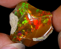 14cts Natural Ethiopian Welo Rough Opal / WR8772