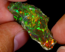 12cts Natural Ethiopian Welo Rough Opal / WR8787
