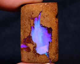 Boulder Pipe Opal Polished Stone AOH-839  - australianopalhunter