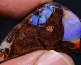 Boulder Pipe Opal Polished Stone AOH-858  - australianopalhunter