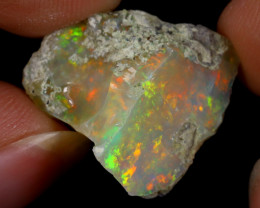 10cts Natural Ethiopian Welo Rough Opal / WR8691