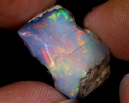 11cts Natural Ethiopian Welo Rough Opal / WR8701
