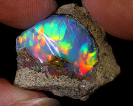 15cts Natural Ethiopian Welo Rough Opal / WR8706