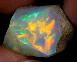 12cts Natural Ethiopian Welo Rough Opal / WR8711