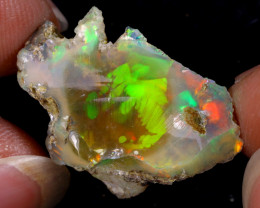 13cts Natural Ethiopian Welo Rough Opal / WR8721