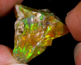 13cts Natural Ethiopian Welo Rough Opal / WR8730
