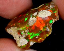 8cts Natural Ethiopian Welo Rough Opal / SU393