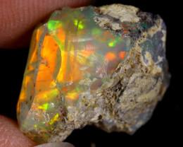 8cts Natural Ethiopian Welo Rough Opal/ SU408