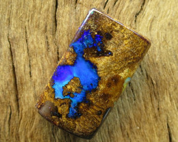 20cts, *BOULDER OPAL~FREE DRILLING*