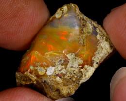 9cts Natural Ethiopian Welo Rough Opal / SU415