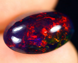 3.04cts Natural Ethiopian Welo Smoked Opal / BF8683