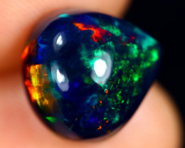 3.87cts Natural Ethiopian Welo Smoked Opal / BF8685
