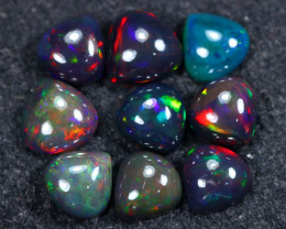 14.85cts Natural Ethiopian Welo Smoked Opal LOTS / BF8733