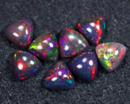 8.85cts Natural Ethiopian Welo Smoked Opal LOTS / BF8737