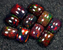 9.12cts Natural Ethiopian Welo Smoked Opal LOTS / BF8692