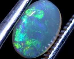 0.73   cts  crystal  opal stone lightning ridge  TBO-A3667  TRUEBLUEOPALS