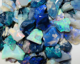 Colourful Bright Little Opal Chips- 57 CTs #612