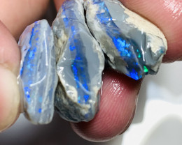 Handpicked Black Nobby Opals- 37 CTs of Rough to Cut#619