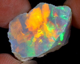 16cts Natural Ethiopian Welo Rough Opal / WR8815