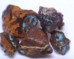 133.32 Carats Jundah Boulder Opal Rough Parcel  ANO-2827