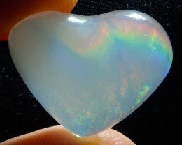10.44ct Contraluz Mexican Heart Opal