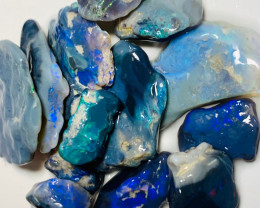 Black Seam Opal ROugh with Nice Cutters & Carvers