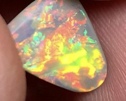 Solid Top Grade Multicolour Vibrant Colours Gem Opal For Jewellery