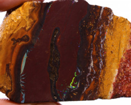 Koroit Boulder Opal Faced Rough DO-2582  - downunderopals