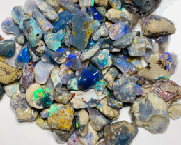 245 Cts Rough Nobby Opals Mix of Various Sizes to Cut