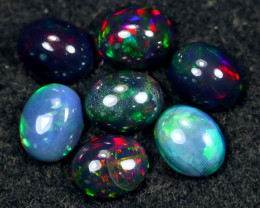 11.60cts Natural Ethiopian Smoked Welo Opal Parcel Lot / Hm3151