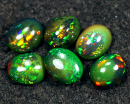 11.09cts Natural Ethiopian Smoked Welo Opal Parcel Lot / Hm3154