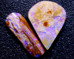 8.65 cts Boulder Pipe Opal Rough Parcel DT-A5411    Dreamtimeopals