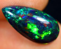 2.25cts Natural Ethiopian Welo Smoked Opal / GBF8909
