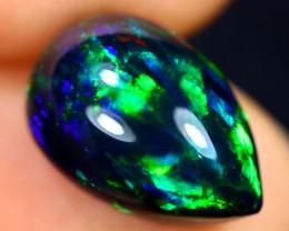 4.09cts Natural Ethiopian Welo Smoked Opal / GBF8910