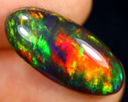 4.86cts Natural Ethiopian Welo Smoked Opal / GBF8916