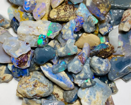 250 Cts of Bright Rough Nobby Opals with Potential Cutters