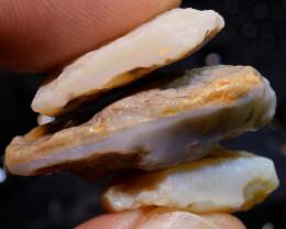 48.30 cts Coober Pedy White Opal Rough Parcel  ADO-9785   adopals