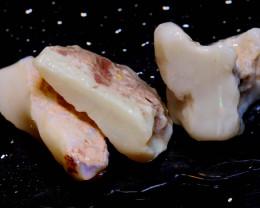 63.65 cts Coober Pedy White Opal Rough Parcel  ADO-9791    adopals