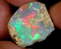 14cts Natural Ethiopian Welo Rough Opal / WR8942