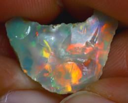 8.08Ct Multi Color Play Ethiopian Welo Opal Rough H2501/R2