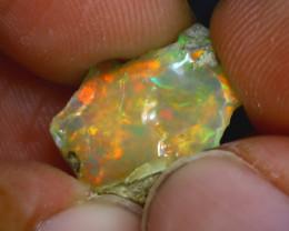 7.27Ct Multi Color Play Ethiopian Welo Opal Rough H2515/R2