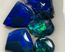 Cutters Black Deal - Rough & Rub Bright Black Opals