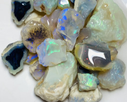 Nobby** 162 CTs of Rough Nobby Opals to Carve & Cut#713